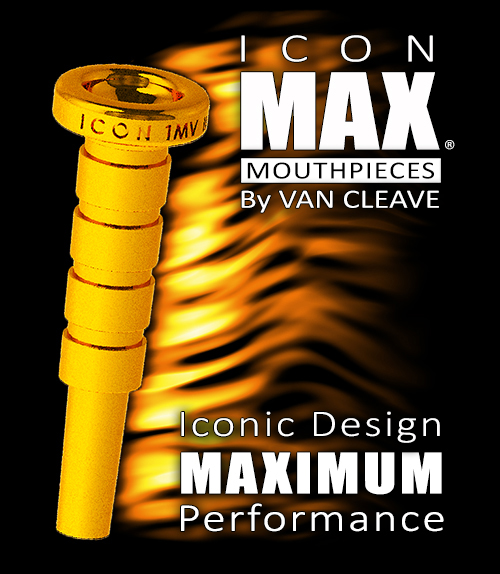 ICON MAX Trumpet Mouthpieces By Van Cleave